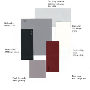 exterior color samples